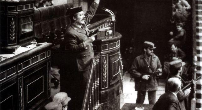 Exteniente coronel Antonio Tejero Molina, quien fue condenado a 30 años de cárcel por ser la cara del golpe de Estado de 1981 | Foto: EFE