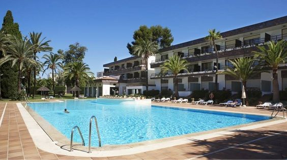 Imagen del Hotel Jerez en una foto de archivo.