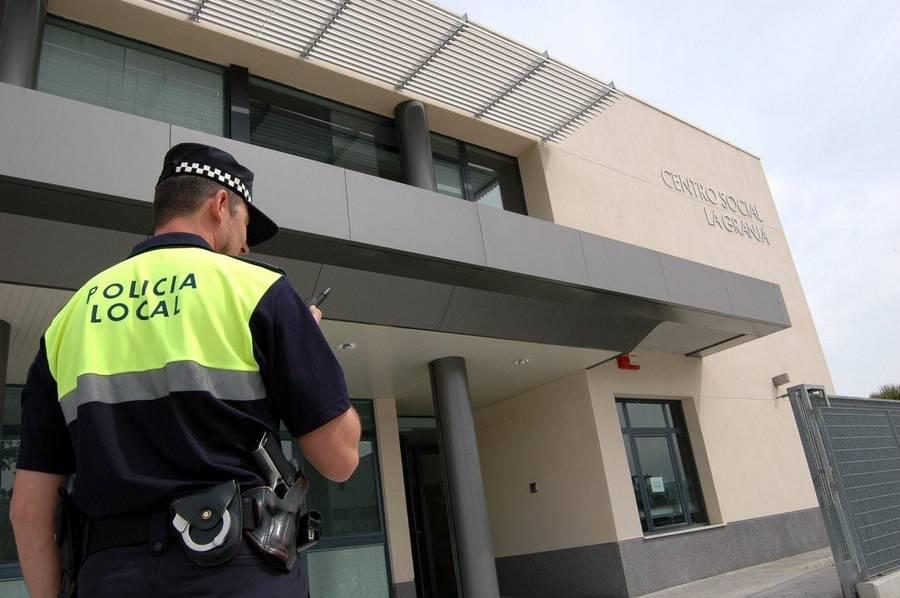 Agente de Policía Local en una imagen de archivo.