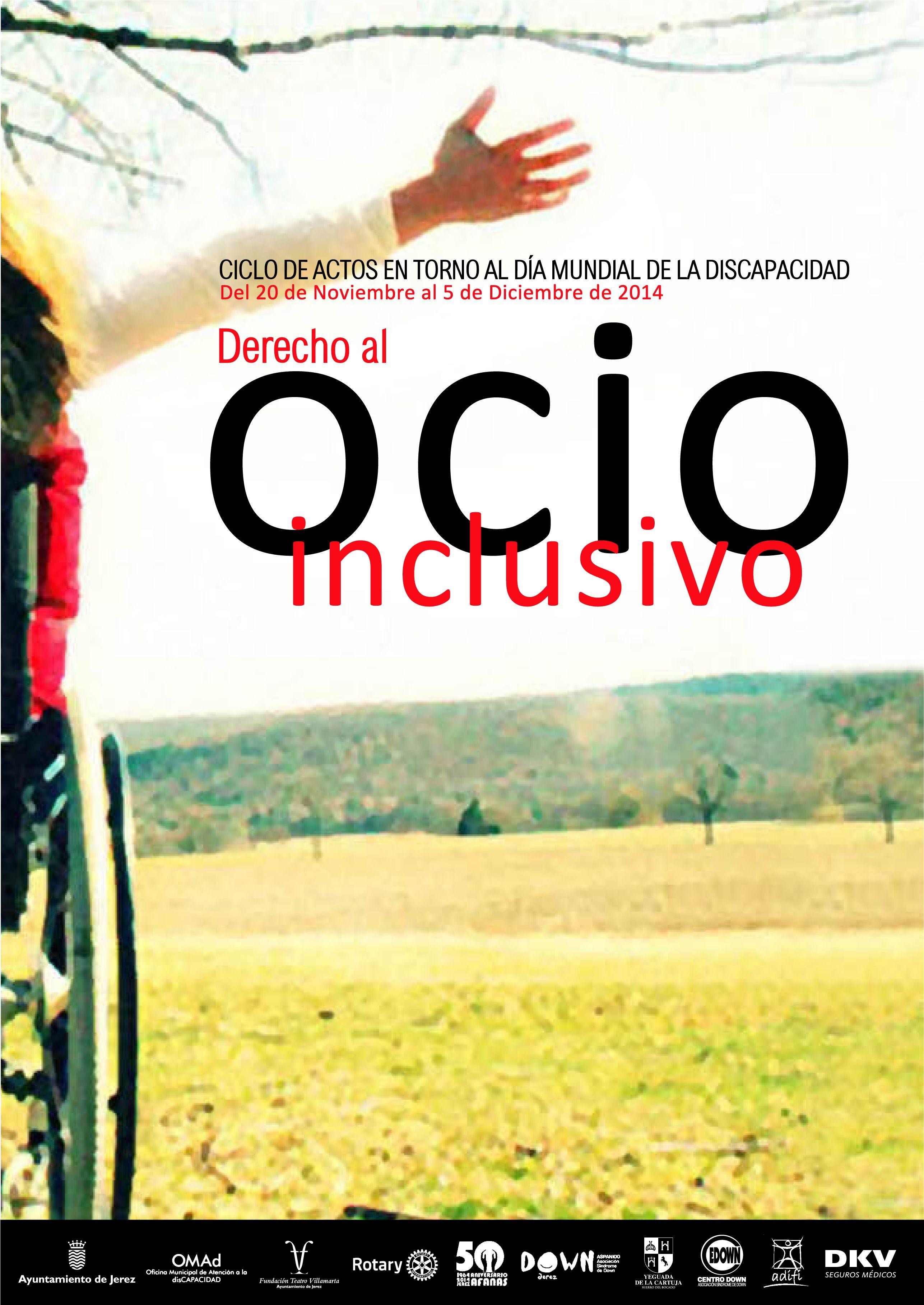 Cartel_Ciclo_de_Actos_disCAPACIDAD_2014_ Ocio Inclusivo Jerez