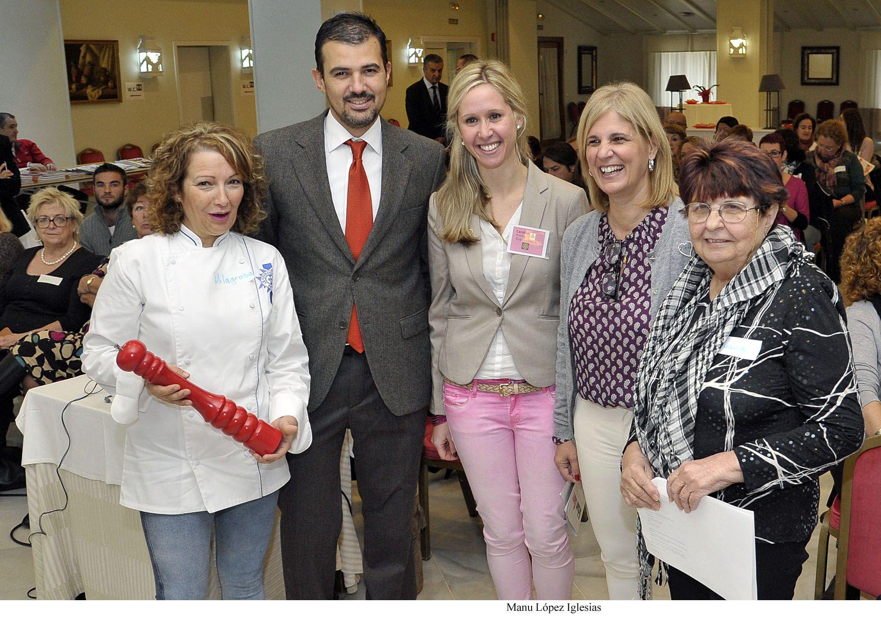 Garc a pelayo inaugura el curso solidario de cocina - Curso de cocina masterchef ...