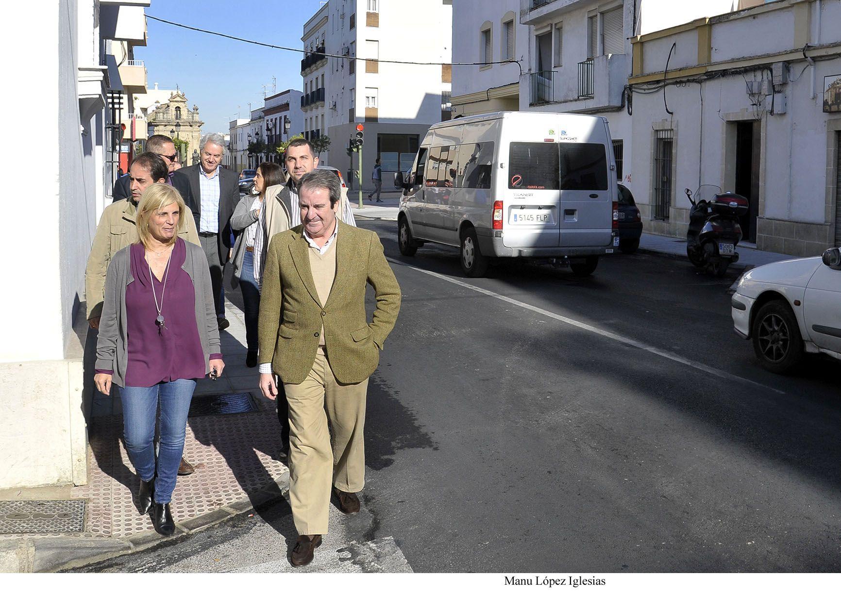 Garc A Pelayo Visita La Calle Puerta Del Sol Donde Han