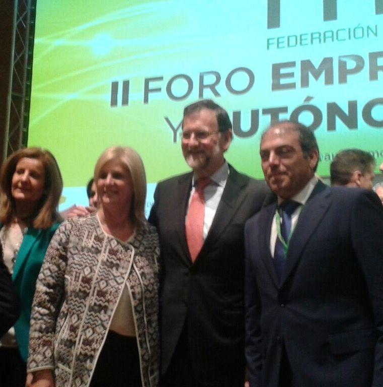 Alcaldesa Rajoy y Lorenzo Amor