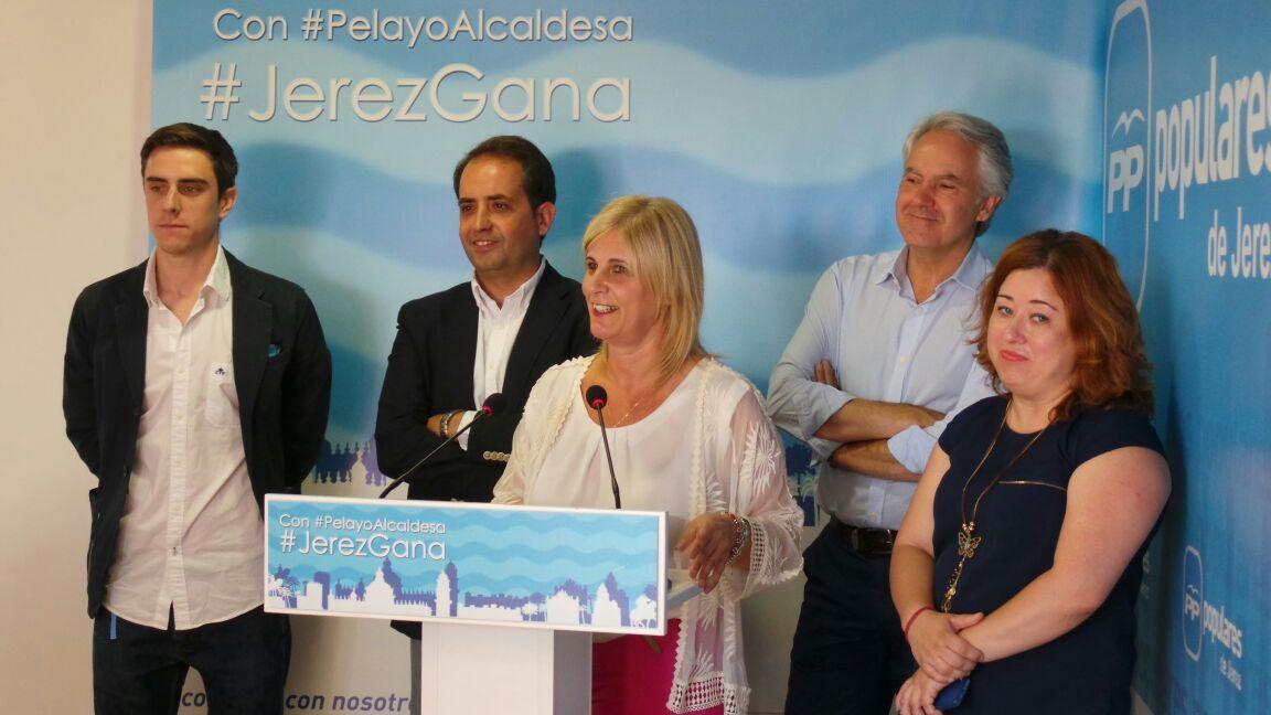 Imágenes del Partido Popular de Jerez de archivo. 22 Mayo de 2015