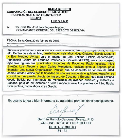 documento Chavismo Podemos