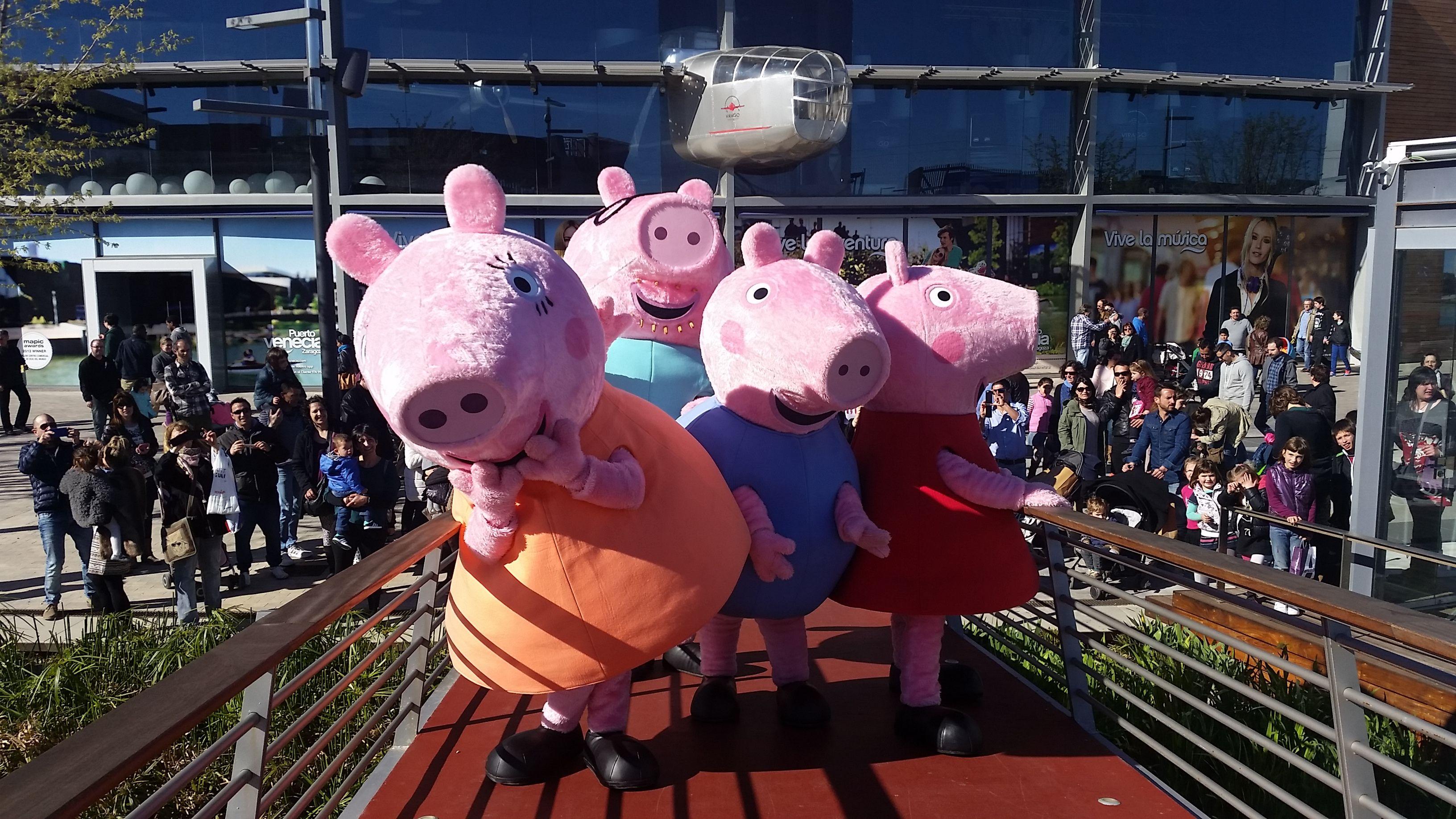Peppa Pig en Jerez 1