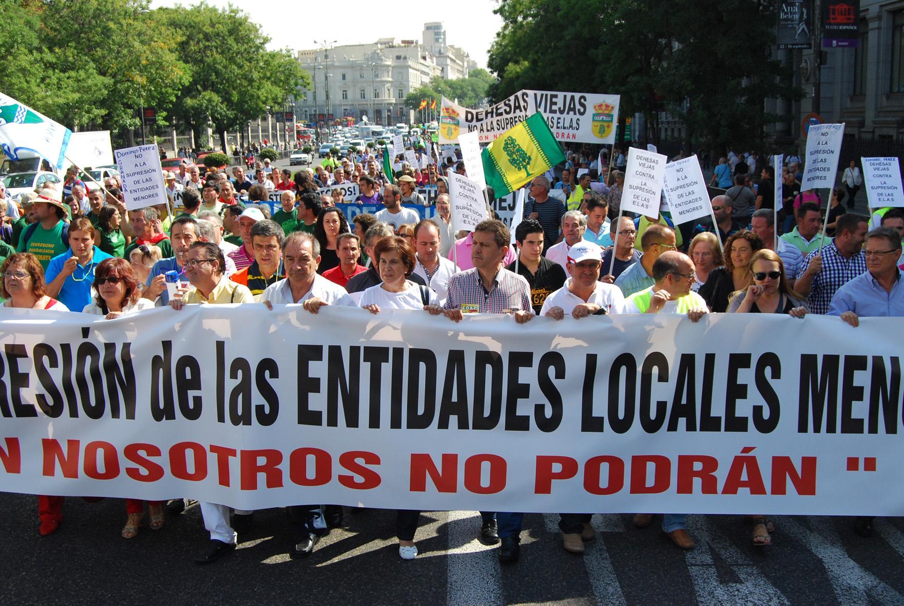 Manifestación de la FEEM en una imagen de archivo