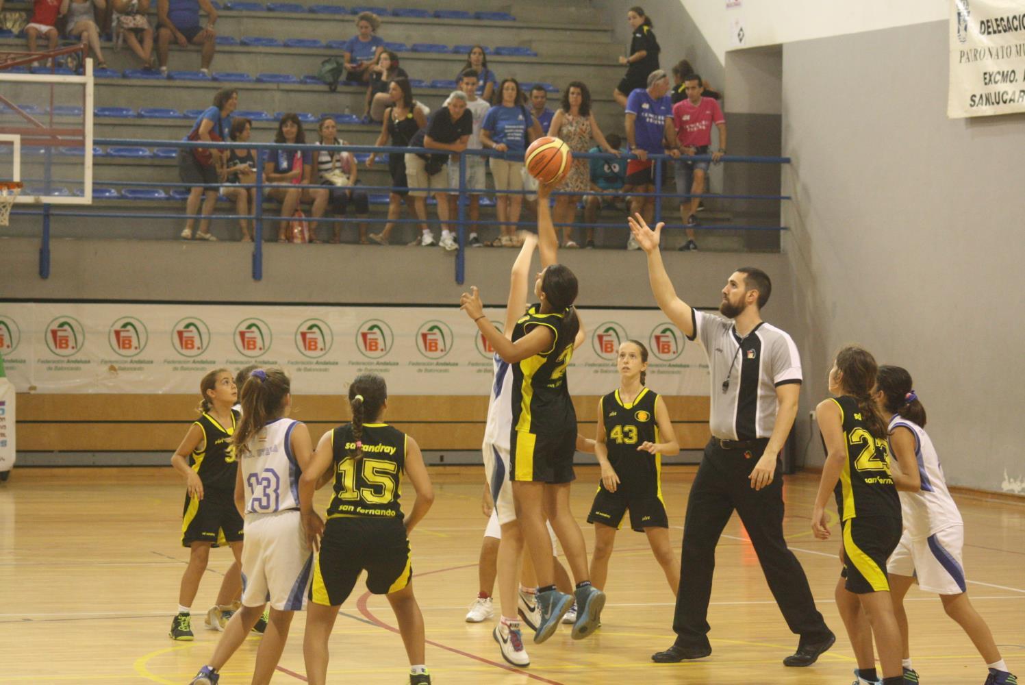 Campeonato Minibasket en Sanlúcar 2