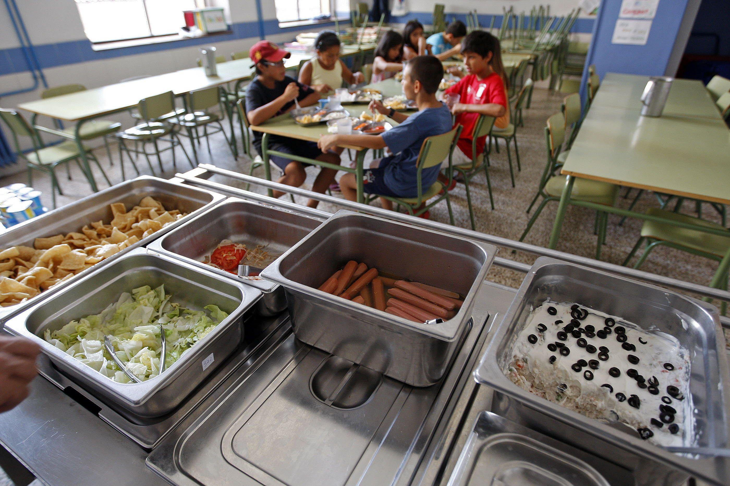 26/08/2013 ALICANTE.- Comedor escolar abierto en verano por el Ayuntamiento de SAn Juan / FOTO: ALEX DOMINGUEZ