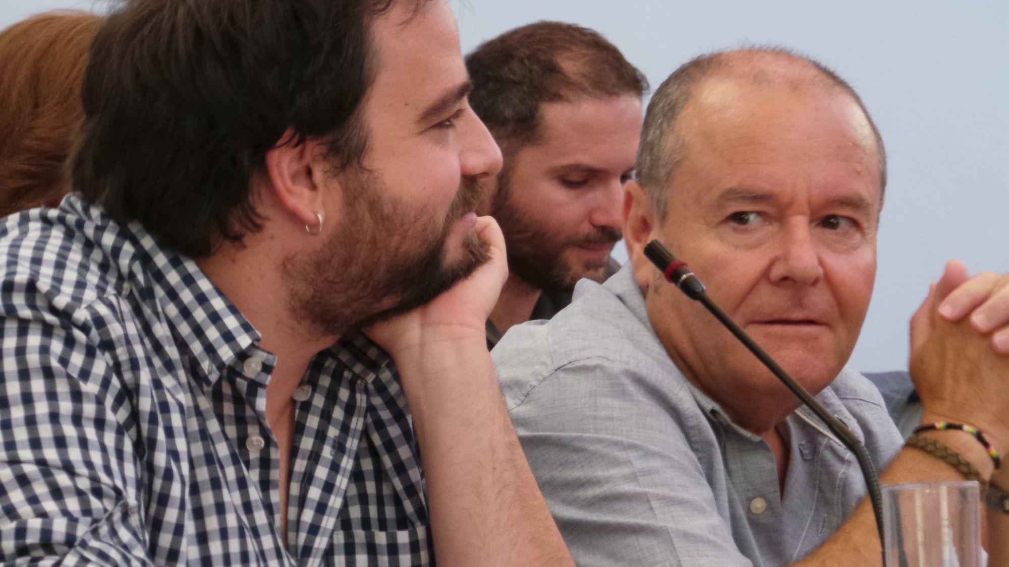 Manuel Fernández durante un pleno del Ayuntamiento de Jerez | MIRA Jerez