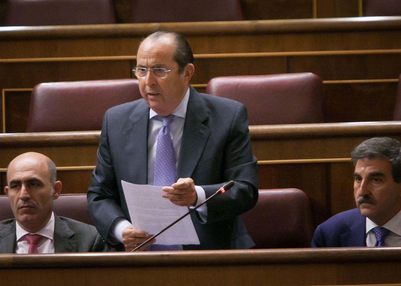 El jerezano Aurelio Romero durante una intervención en el Congreso de los Diputados