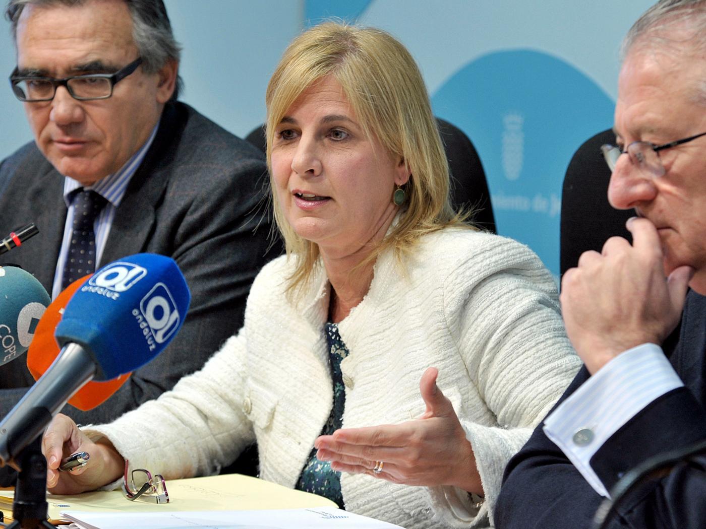 La portavoz del PP de Jerez, María José García-Pelayo, en una foto de archivo.