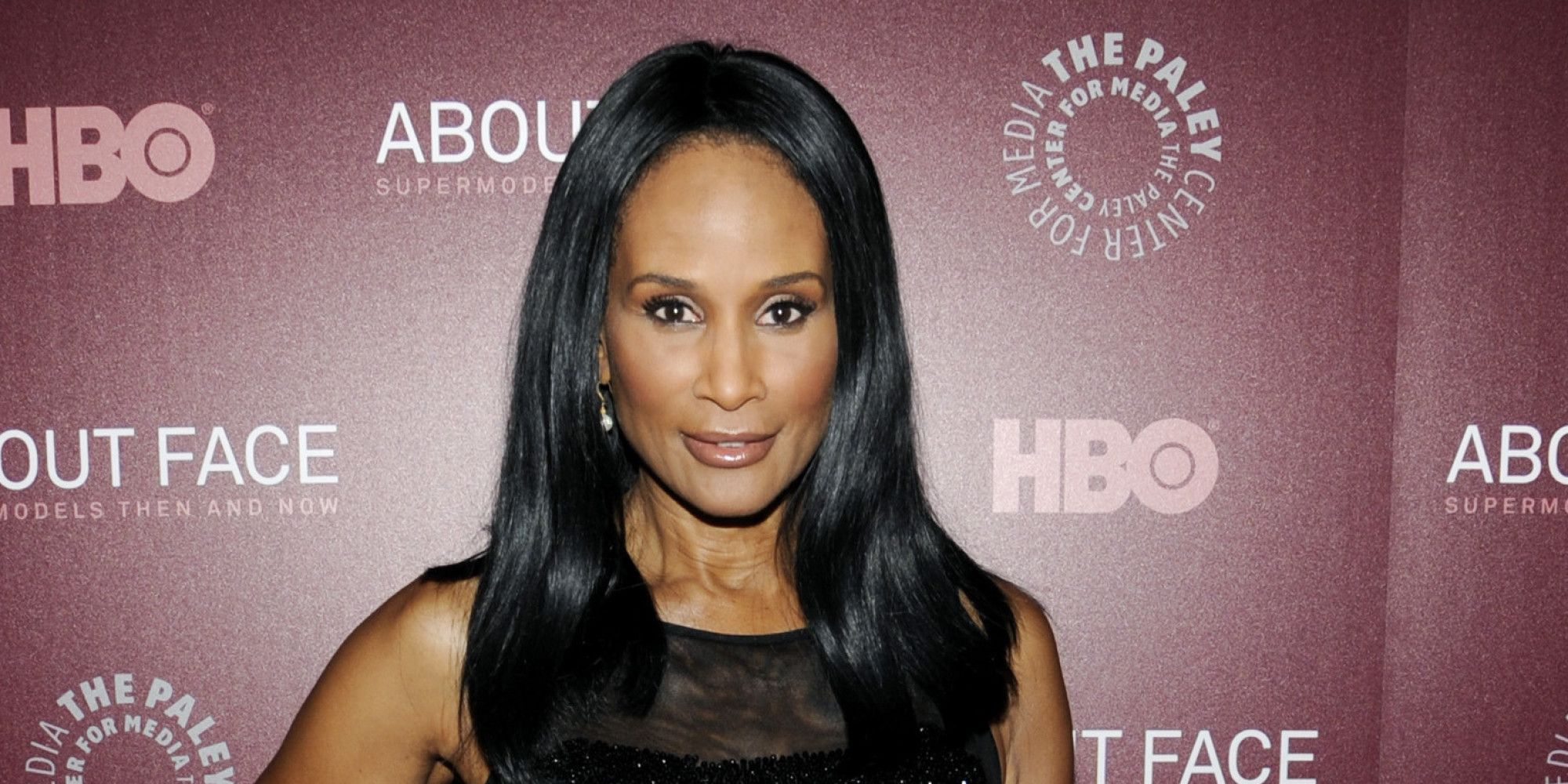 "Model Beverly Johnson atendiendo a los medios en la premier de HBO ""About Face: Supermodels Then And Now"" el 17 de julio de 2012 en New York. 