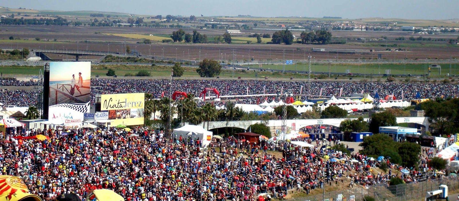 aparcamiento circuito Jerez