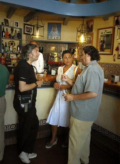Bar el Arco, con Moraito, Joaquin y La Macanita