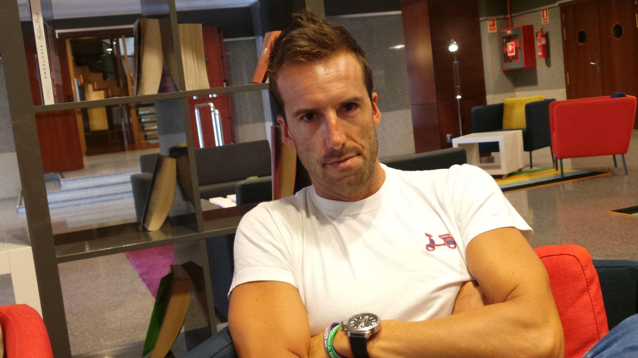 Alvaro Ojeda en exclusiva para Mira Jerez. Hotel Tryp Jerez