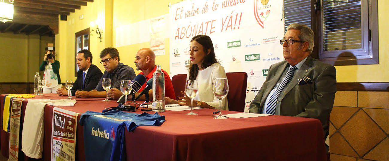 Presentación del Trofeo Elio Antonio de Nebrija. Xerezdeportivofc