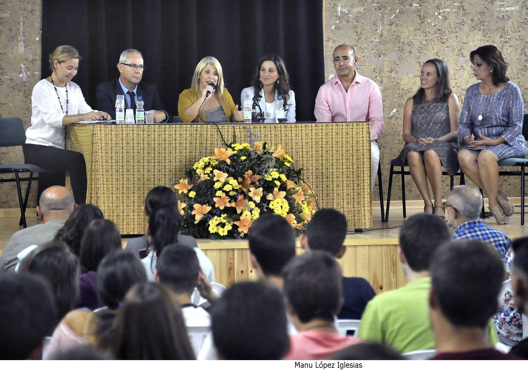 Alcaldesa asiste inicio curso IES Sofia