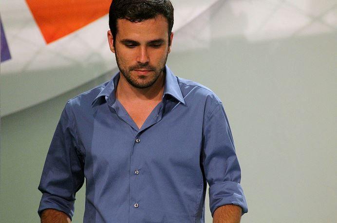 Imagen del líder de IU, Alberto Garzón. Flickr
