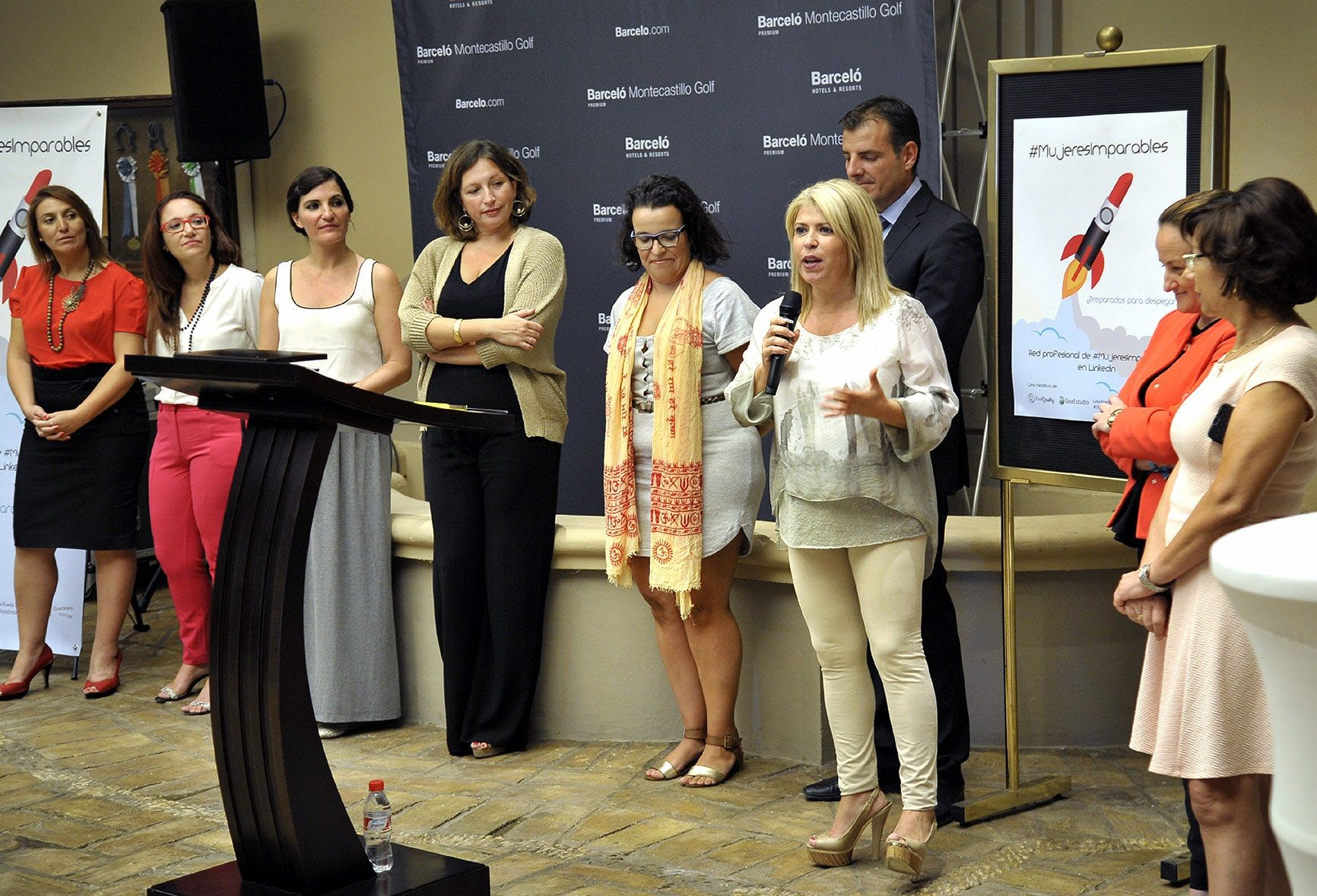 La alcaldesa Mamen Sánchez asisitió recientemente al encuentro Mujeres Imparables