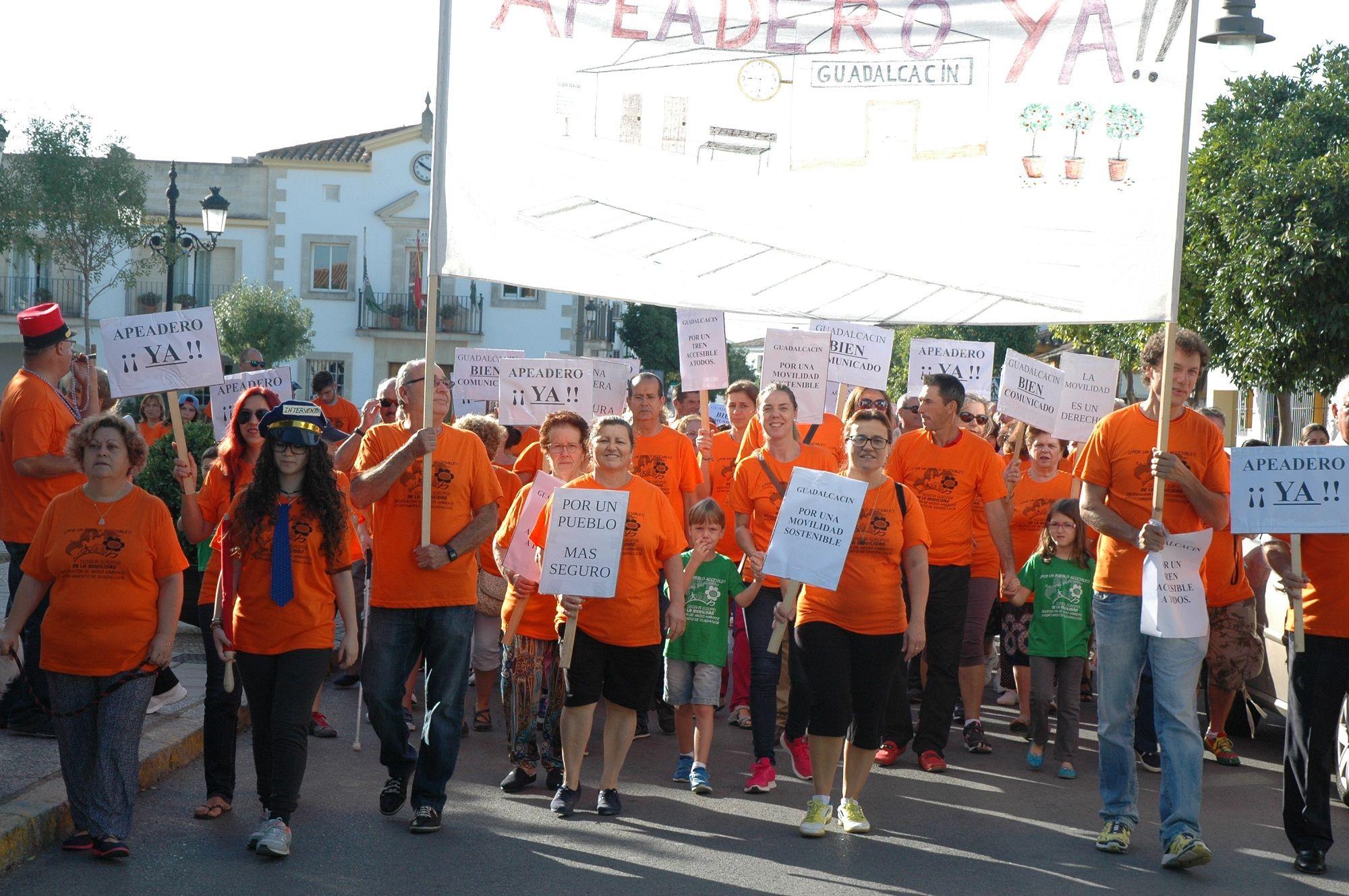 Marcha Apeadero Guada 2