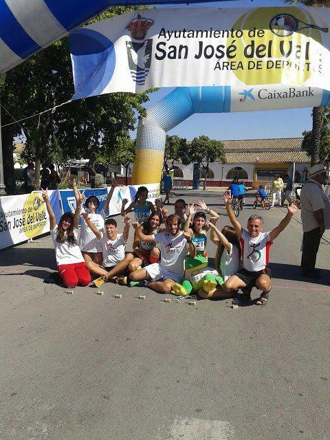 Buena actuación del Maratón Jerez en San José del Valle.
