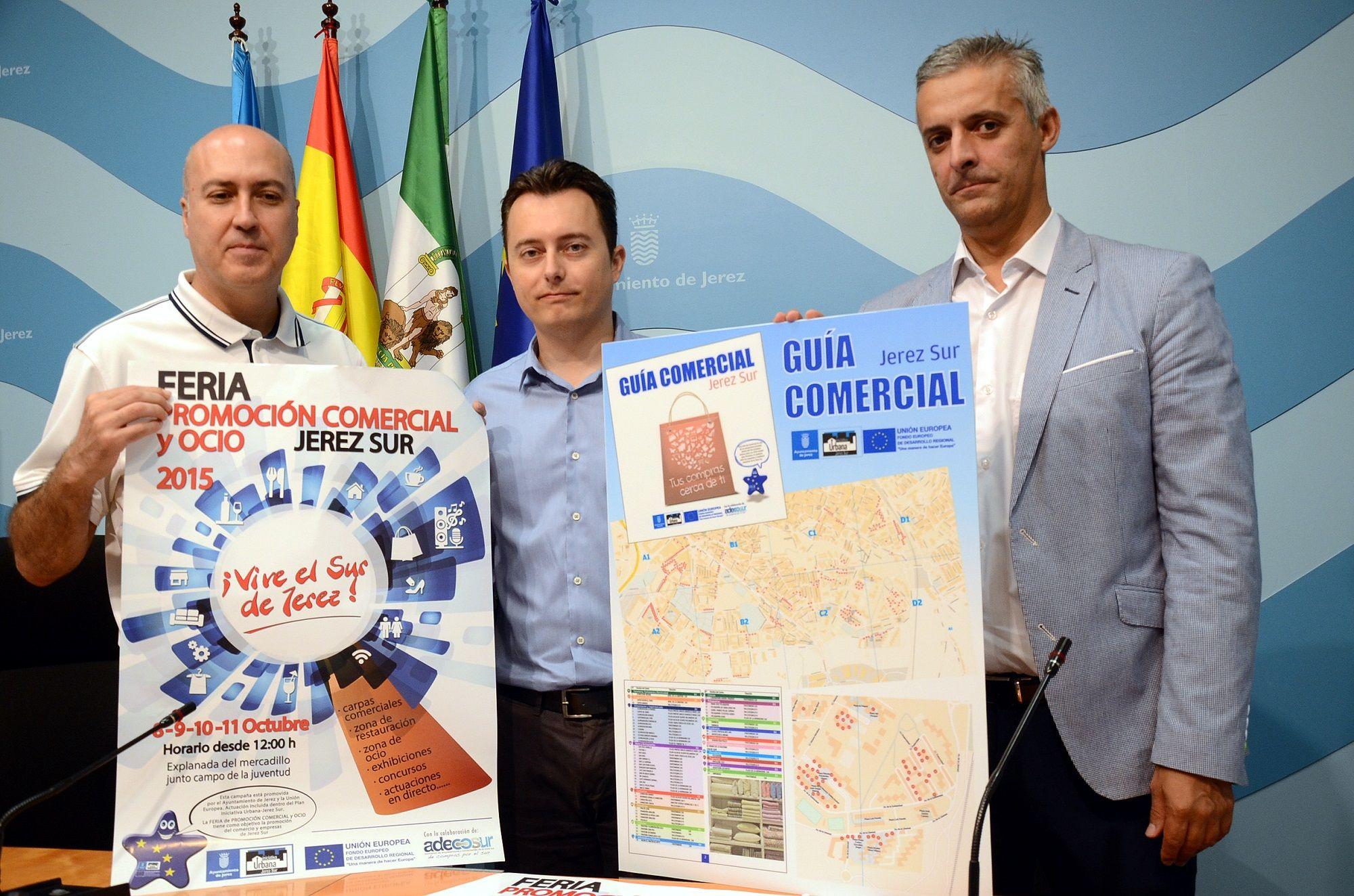 Presentación de ambas actividades en el Ayuntamiento de Jerez