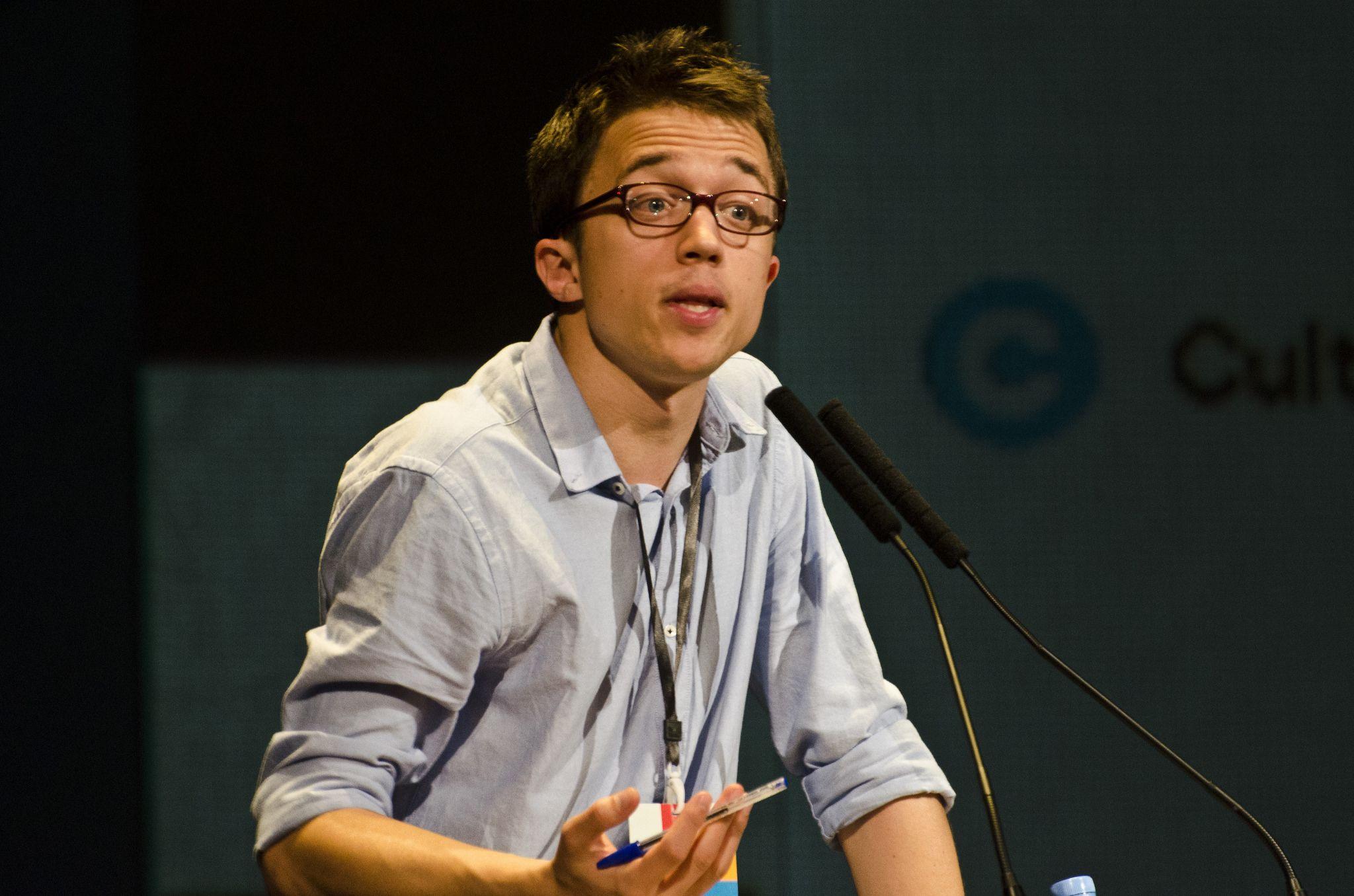 El secretario de Política de Podemos, Iñigo Errejón.