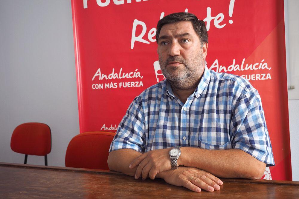 Juan Antonio Jiménez Campos, Coordinador local de Izquierda Unida Jerez