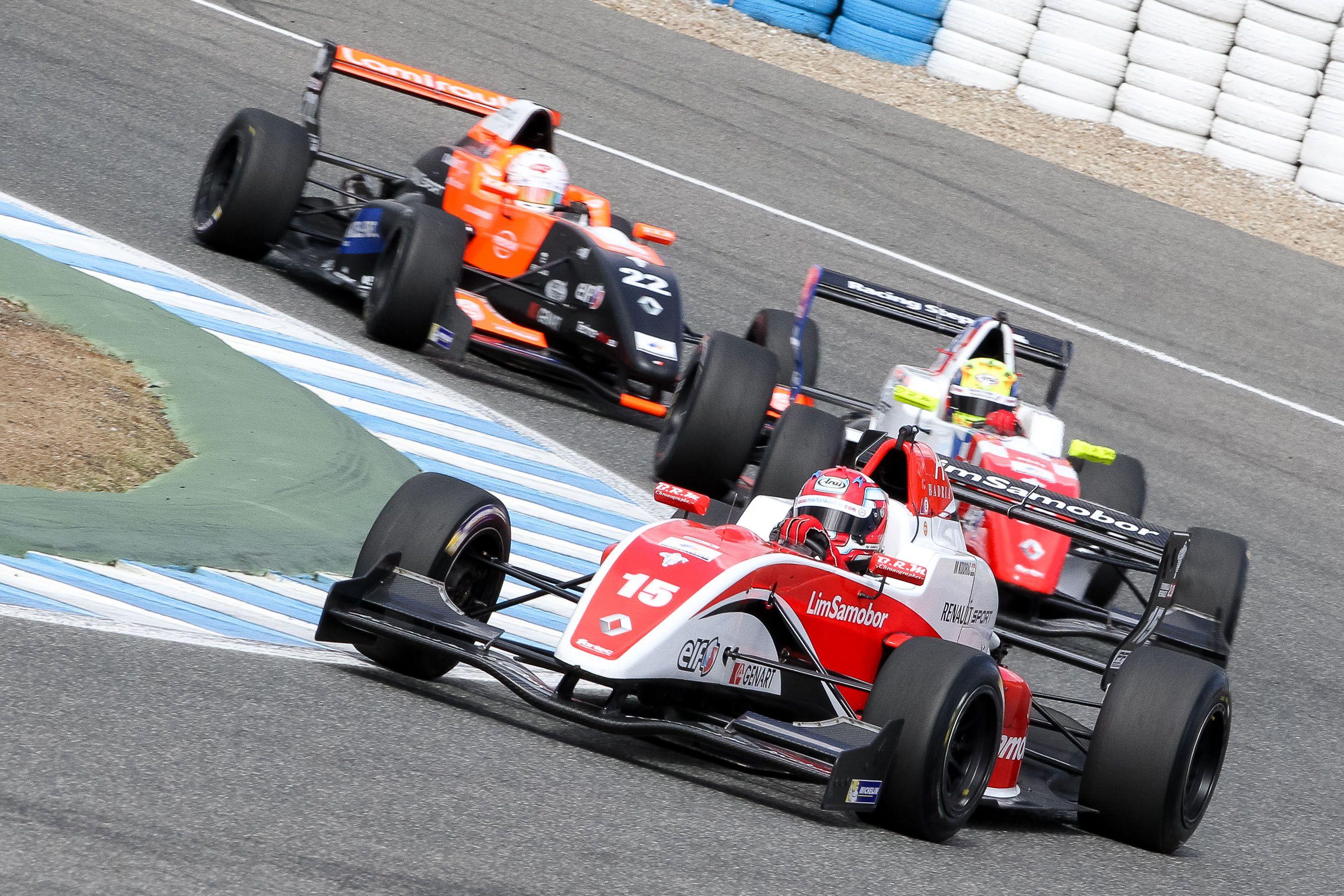 Los Formula Renault 2.0 de la ALPS en acción