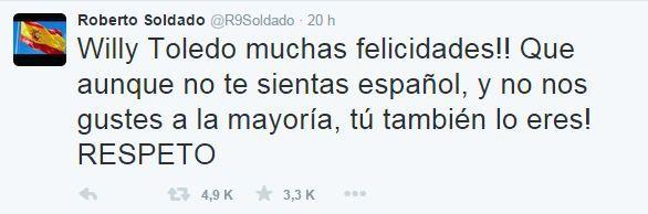 soldado tuit