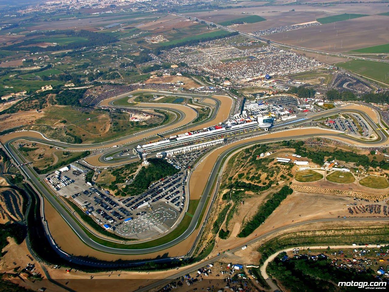 Imagen aérea del Circuito de Jerez
