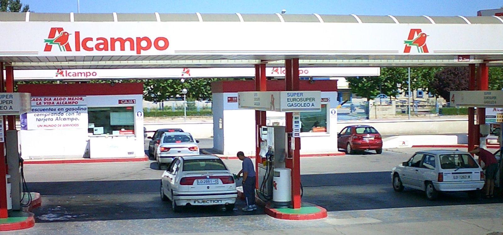 Azs el navegador. Los precios de la gasolina