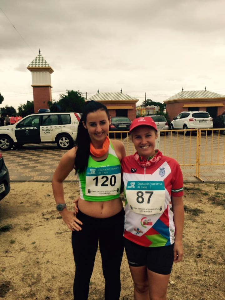 Raquel y Michele en el Trail Desafio dos Bahias