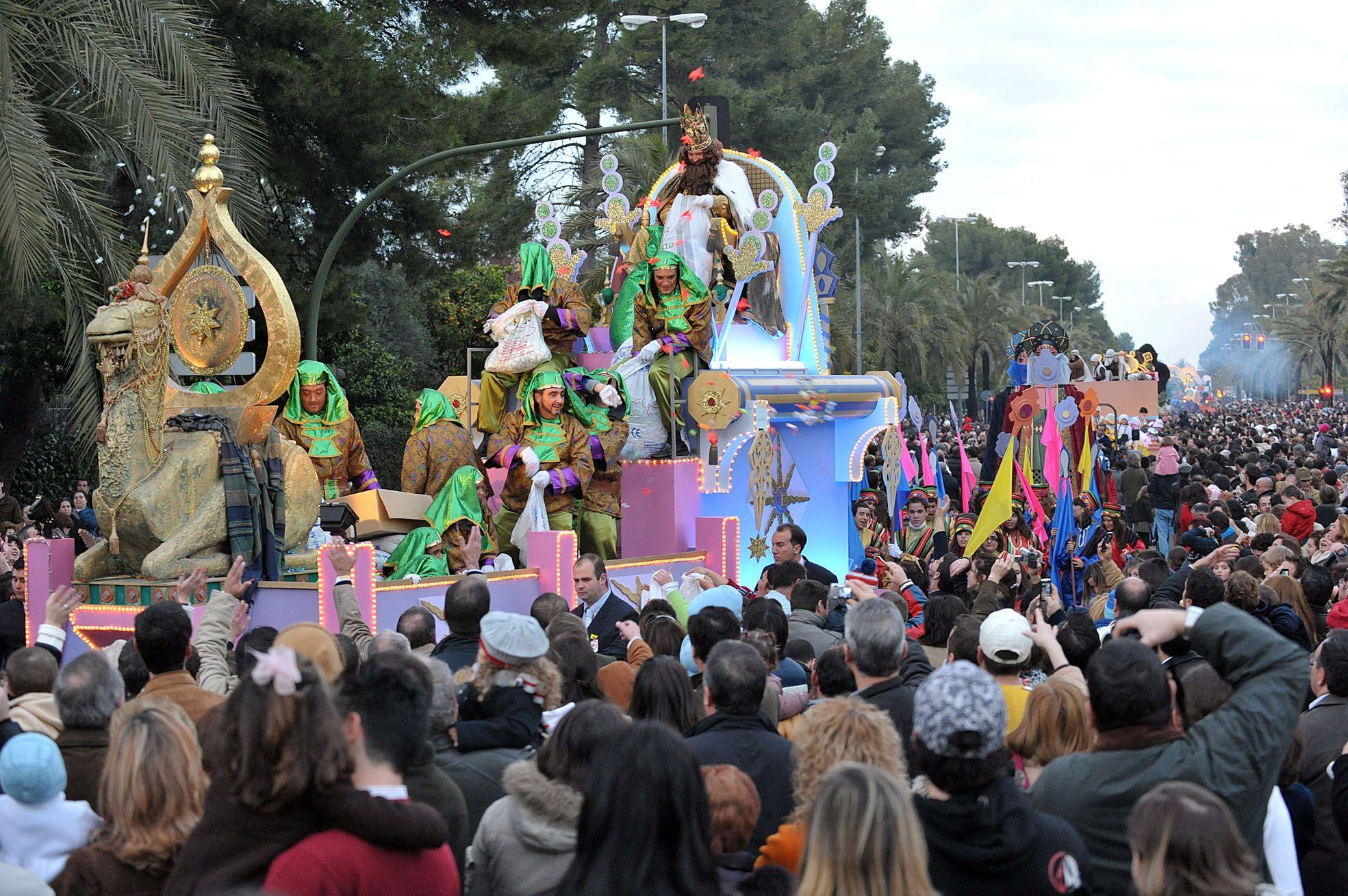 I,magen de la cabalgata de Reyes. Foto Cristóbal.