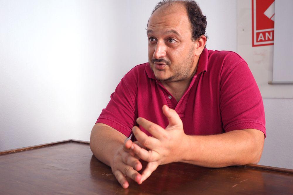 Raúl Ruiz-Berdejo, líder de IU en Jerez