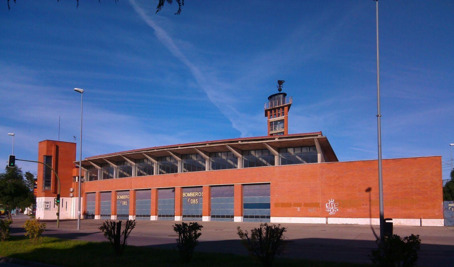 Consorcio Provincial de Bomberos en Jerez.