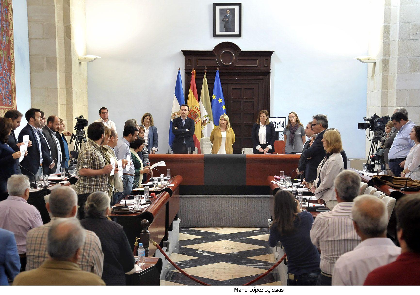 Pleno municipal ordinario de octubre 2015.