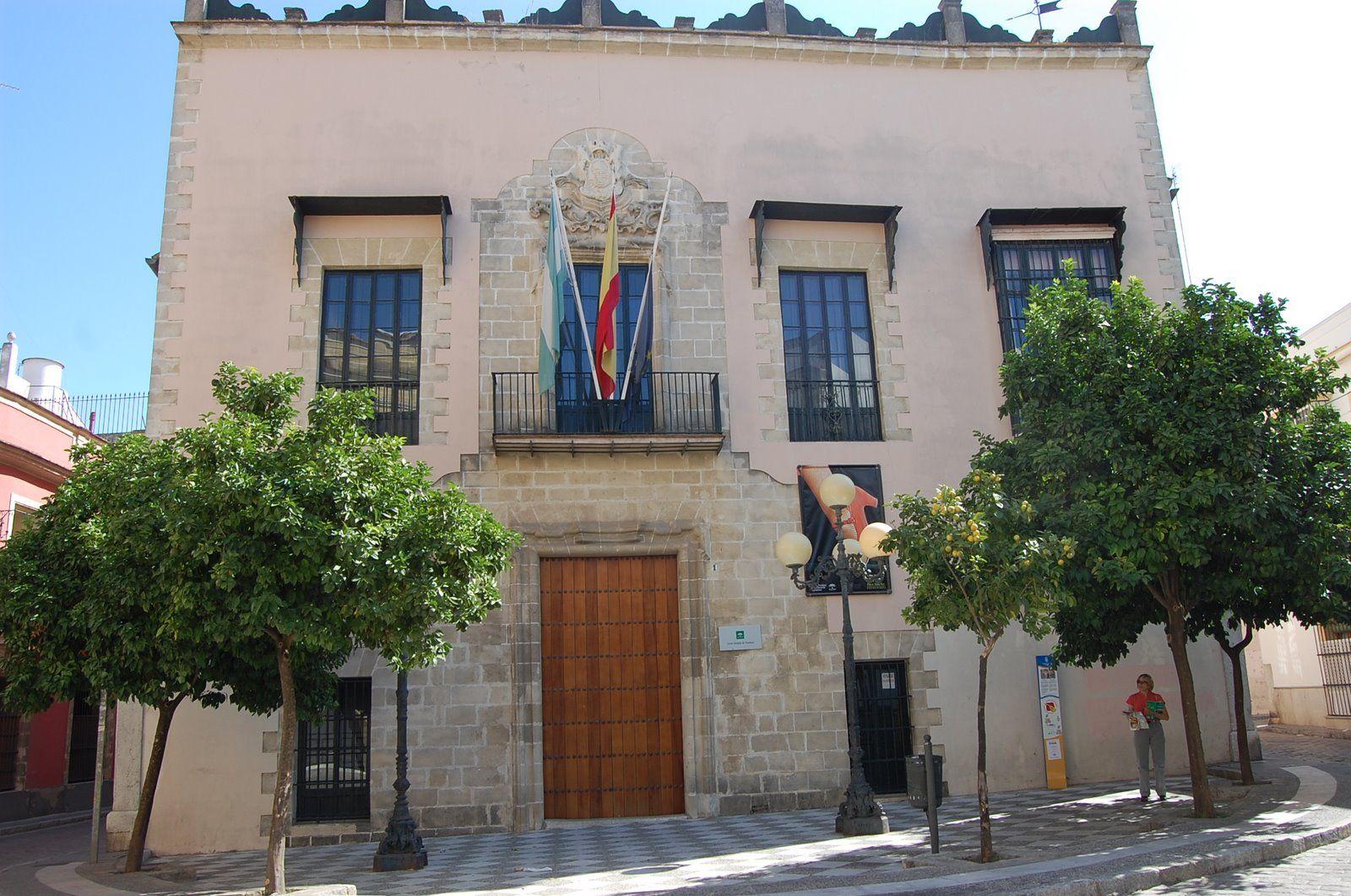 Imagen del Centro Andaluz del Flamenco en la Plaza San Juan de Jerez.