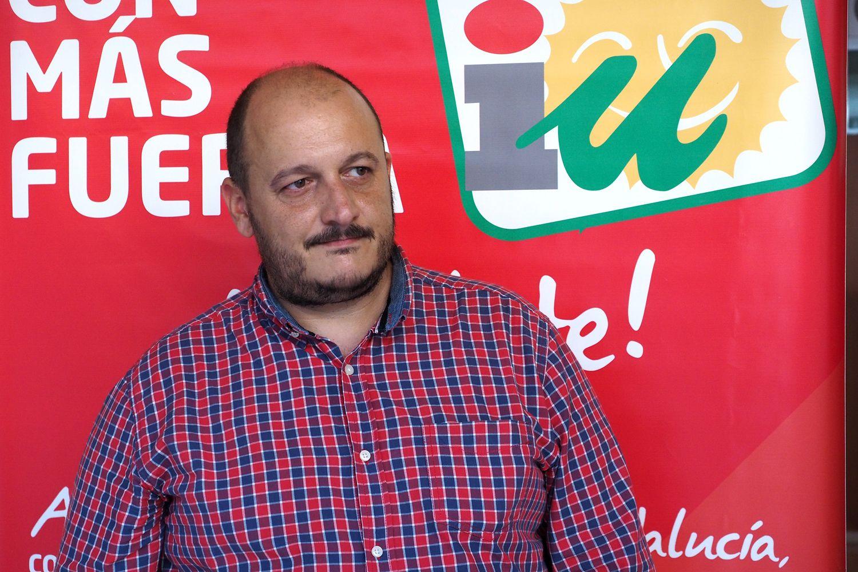 Raúl Ruiz-Berdejo, líder de IU Jerez.