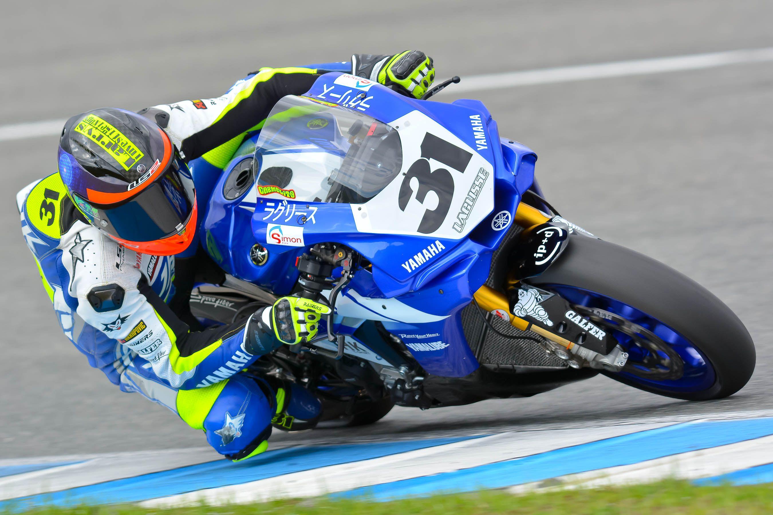 Carmelo Morales, pole en Superbike