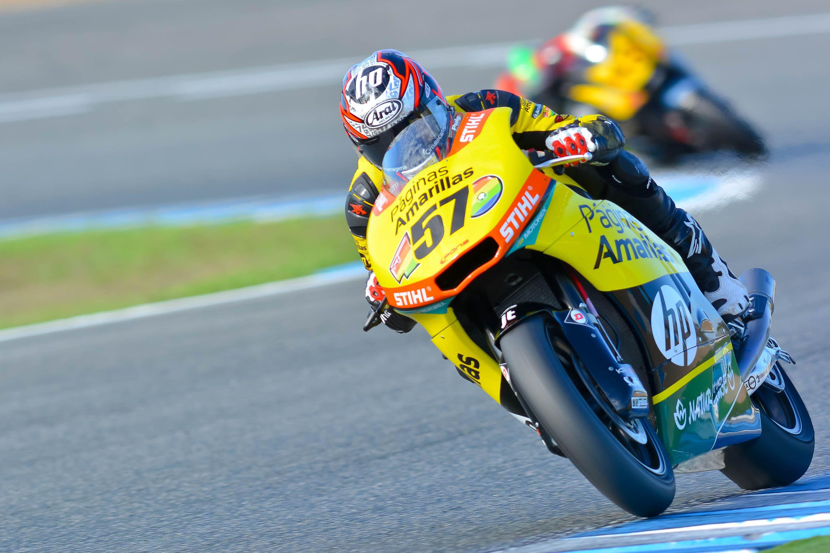 Edgar Pons, pole en Moto2