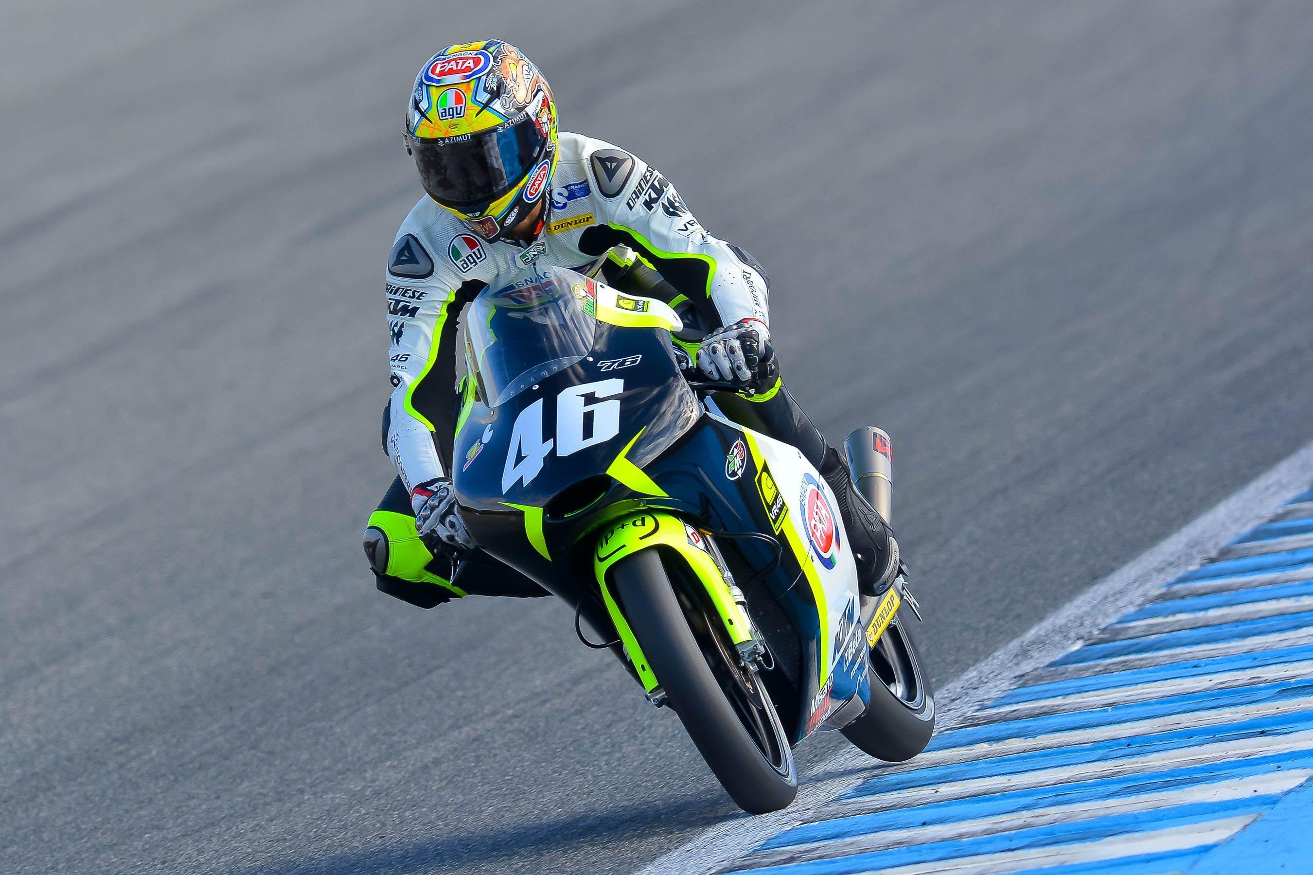 Nicolo Bulega, pole en Moto3