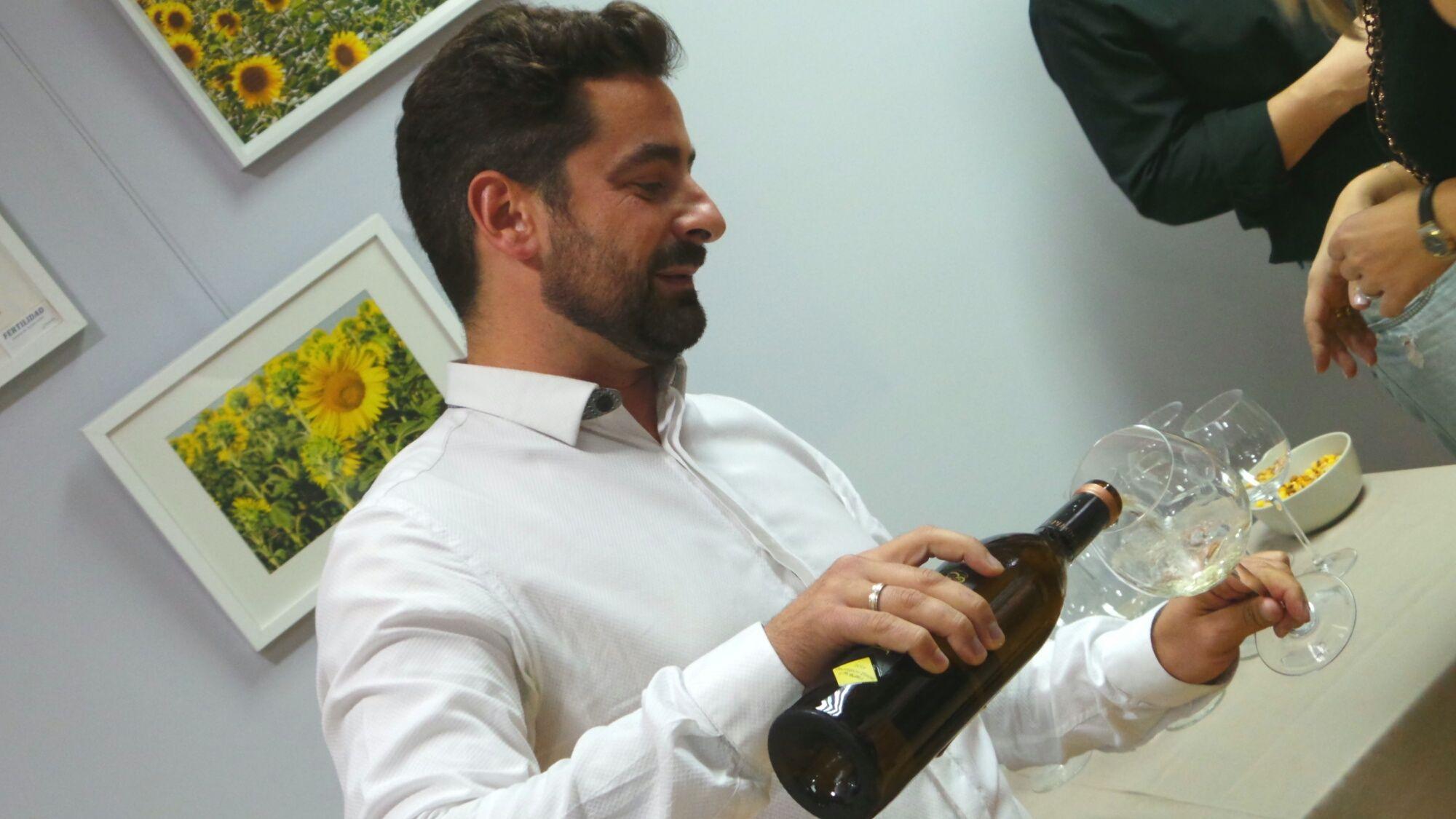 Isaac Ortigosa, gerente de Valmont Gourmet