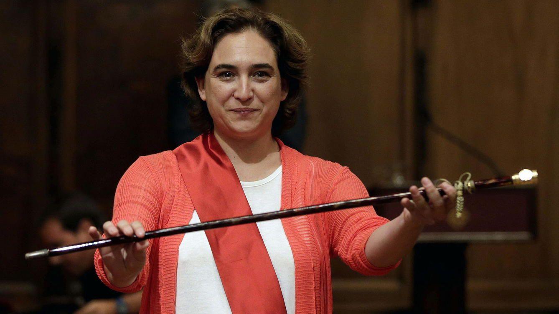Ada Colau, alcaldesa de Barcelona. ElConfidencial