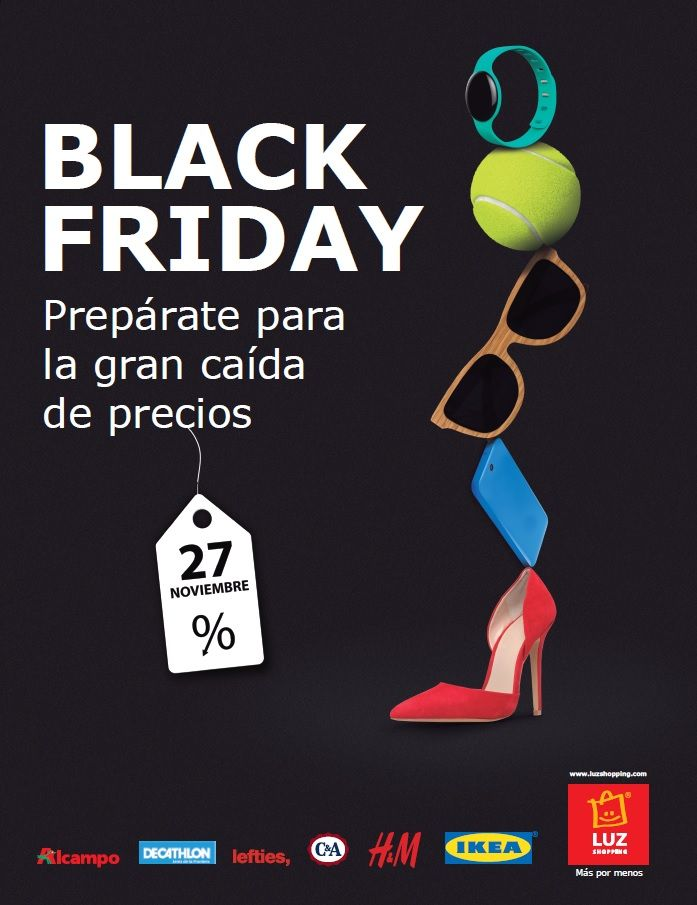 Black Friday LUZ Shopping