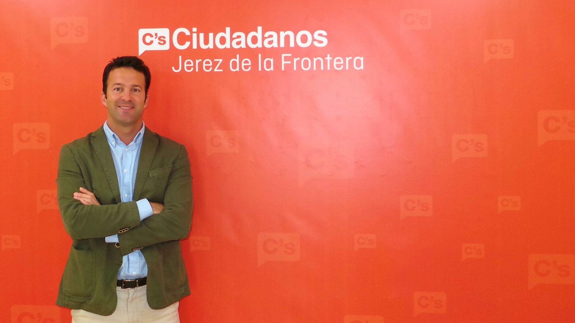 Carlos Pérez, coordinador local de Ciudadanos en Jerez.