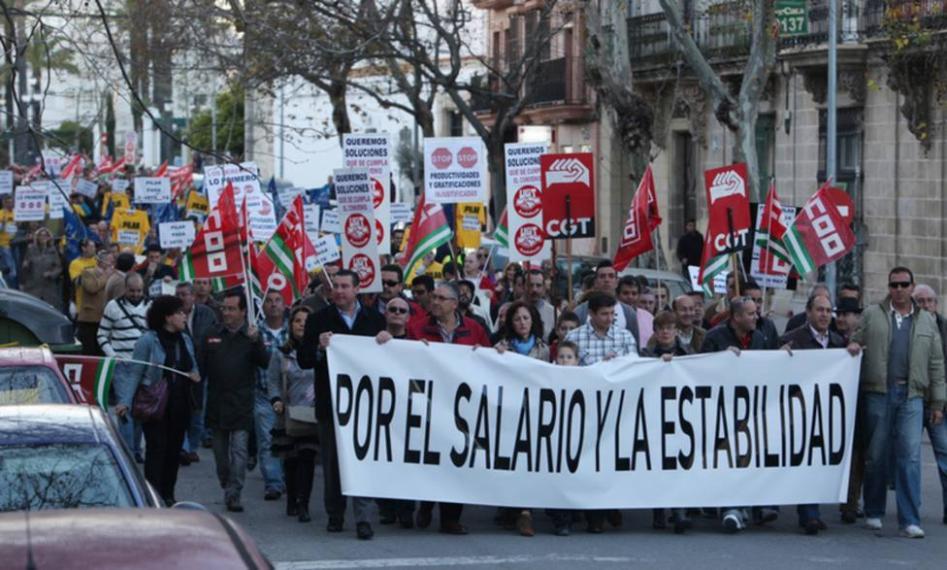 Impagos y retrasos Ayuntamiento Jerez