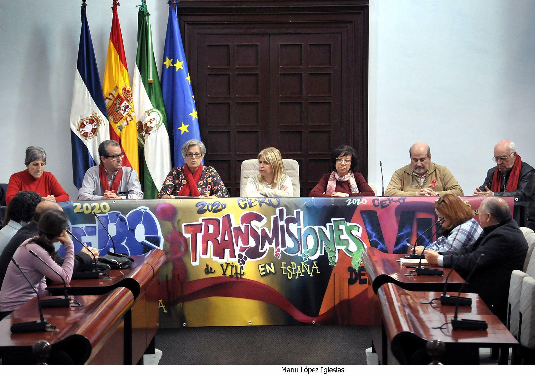 Alcaldesa preside lectura manifiesto Dia del Sida _ 03
