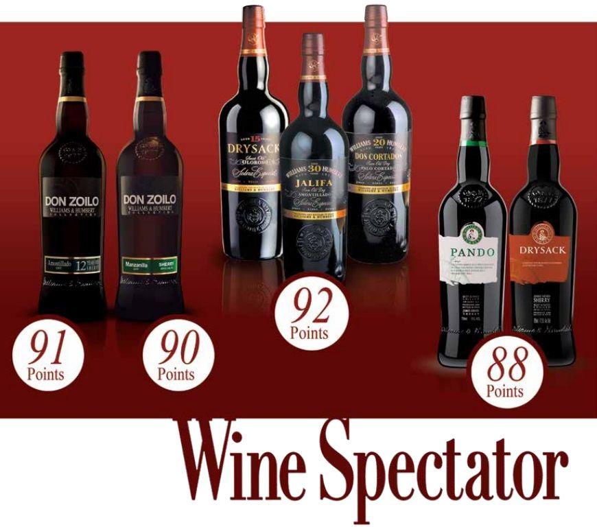 Wine Spectator Grafic